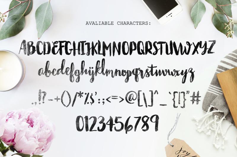 bastina-hand-written-font