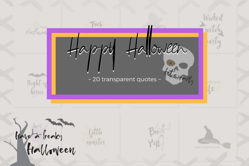 20-halloween-lettering-collection