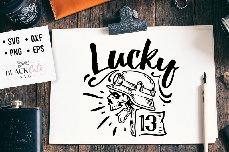 lucky-13-svg