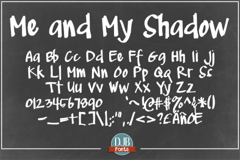 djb-me-and-my-shadow-fonts