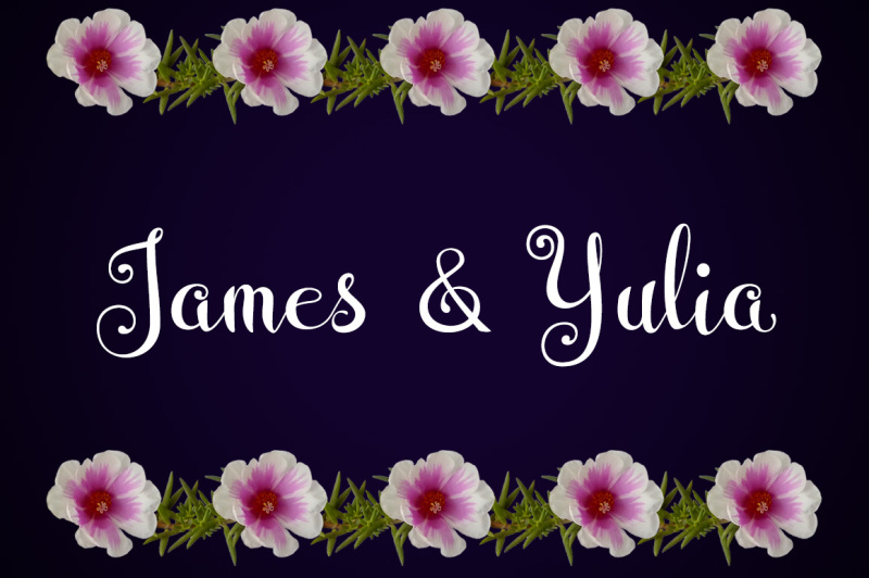 wedding-font