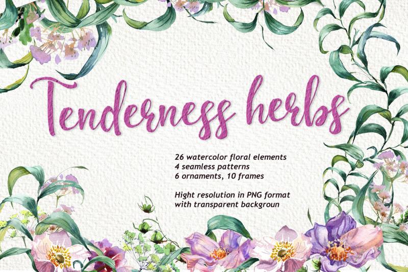tenderness-herbs