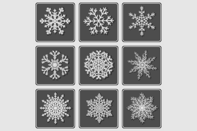 christmas-snowflakes-vector-bundle