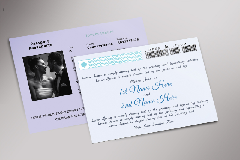 party-post-card-template