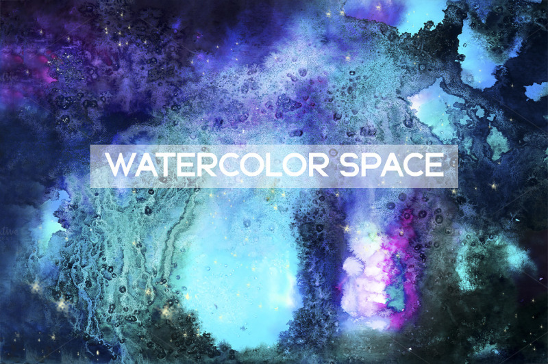 watercolor-space