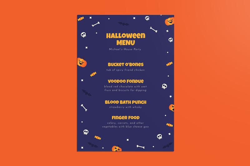 special-halloween-menus