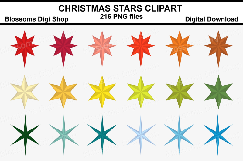 christmas-stars-clipart-216-multi-colours-png-files