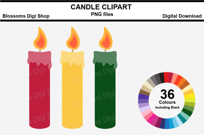 candle-clipart-36-multi-colours-png-files