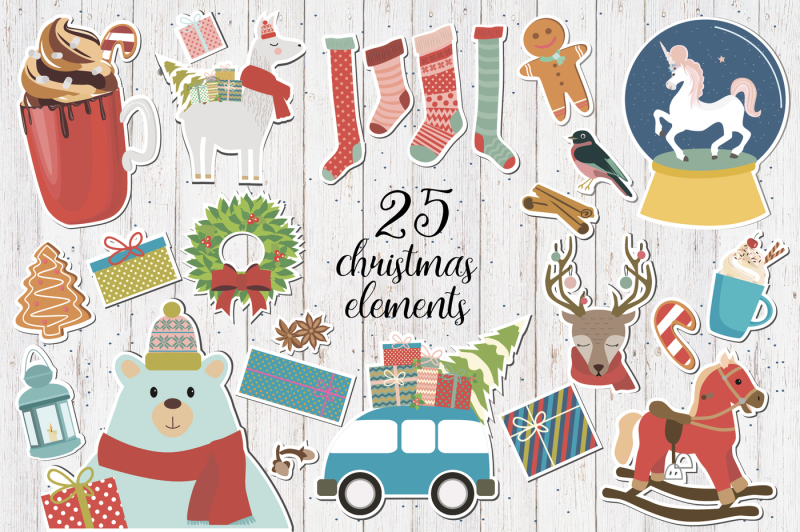 christmas-lettering-and-clipart