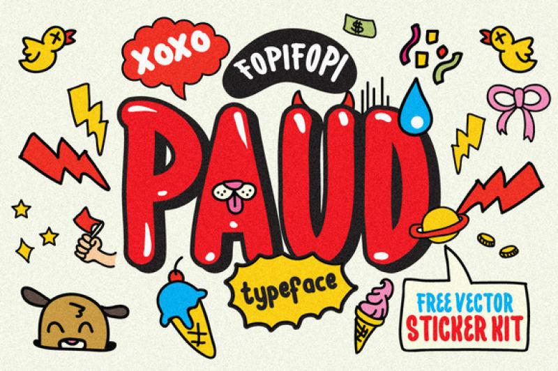 paud-typeface-and-bonus