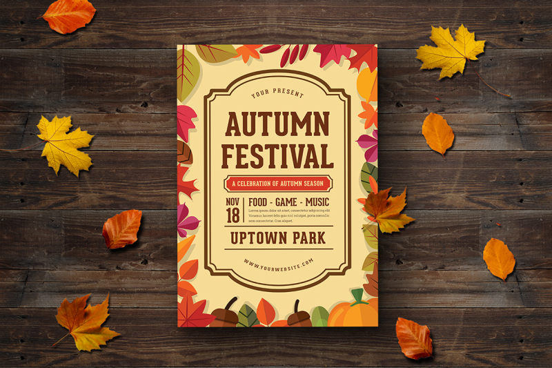 autumn-festival-flyer
