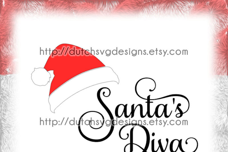 cutting-file-santa-s-diva-with-hat-in-jpg-png-svg-eps-dxf-for-cricut-and-silhouette-christmas-svg-santa-svg-diva-svg-santa-hat-svg-diy