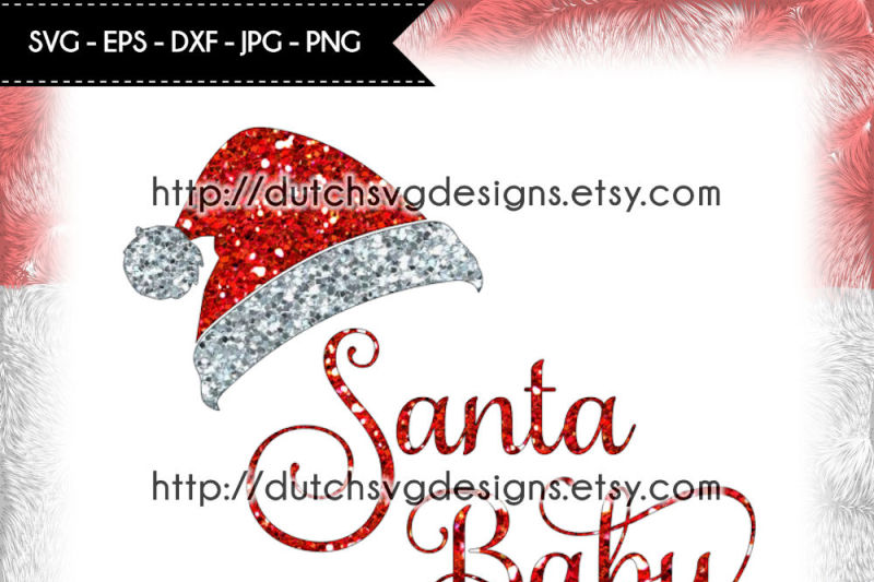 cutting-file-santa-baby-with-hat-in-jpg-png-svg-eps-dxf-for-cricut-and-silhouette-christmas-svg-santa-svg-santa-hat-svg-santa-baby-svg