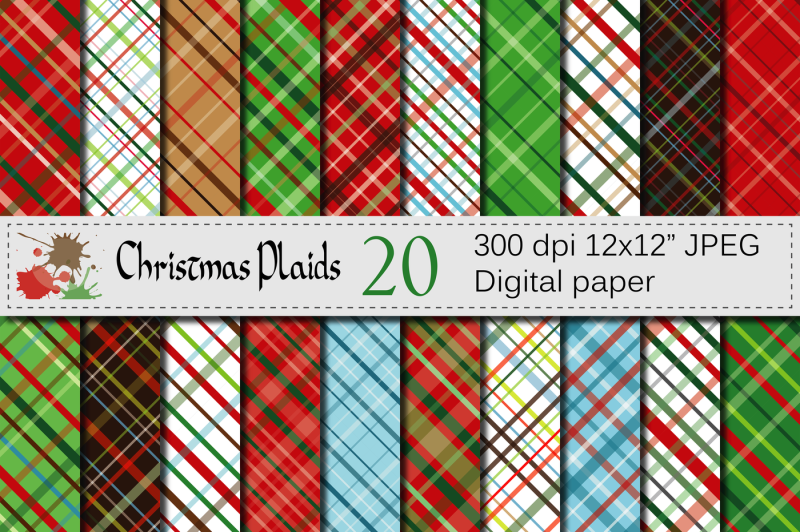 christmas-plaid-digital-paper