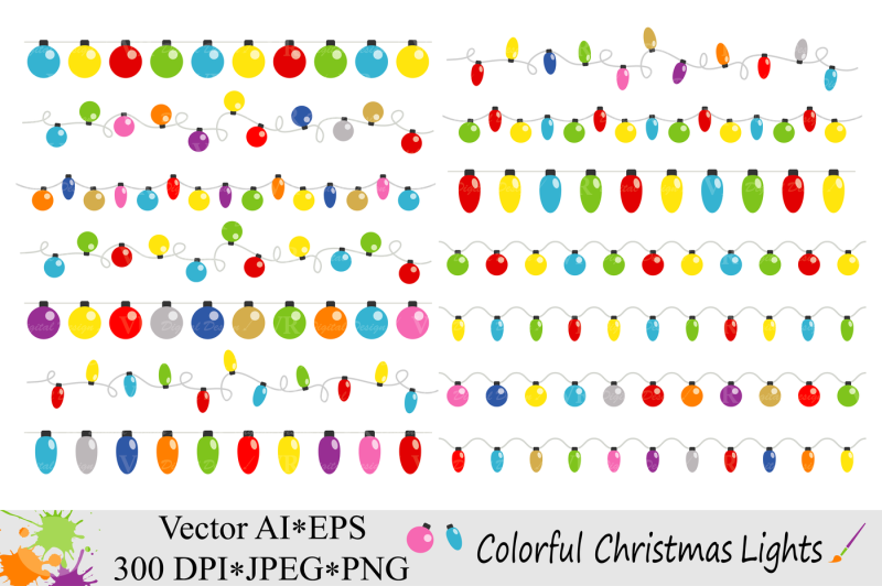 colorful-christmas-string-lights-clipart-vector