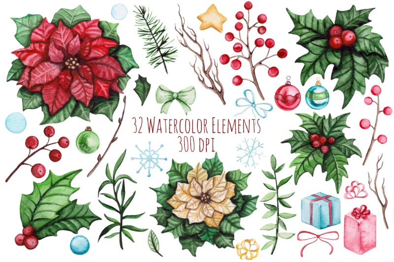 christmas-watercolor-set