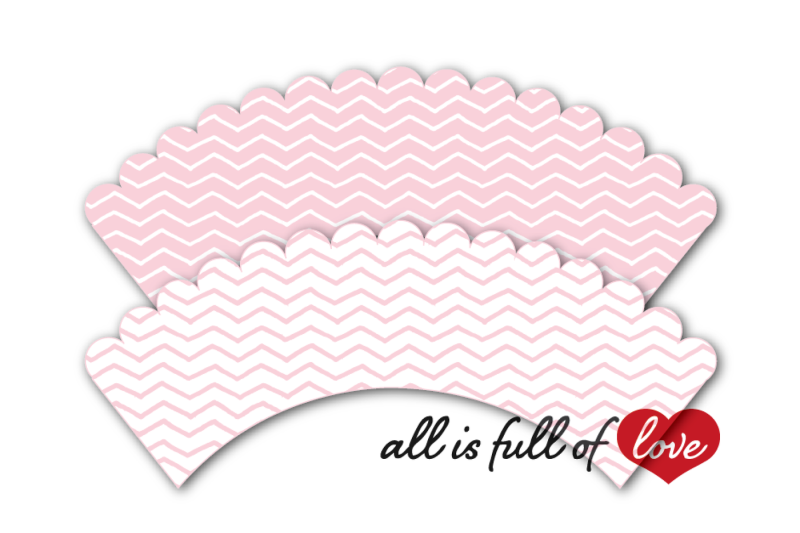 pink-chevron-cupcake-wrappers-to-print-chevron-cupcake-holder-printable