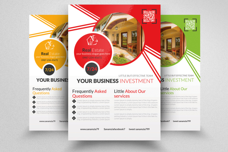 real-estate-agency-flyer