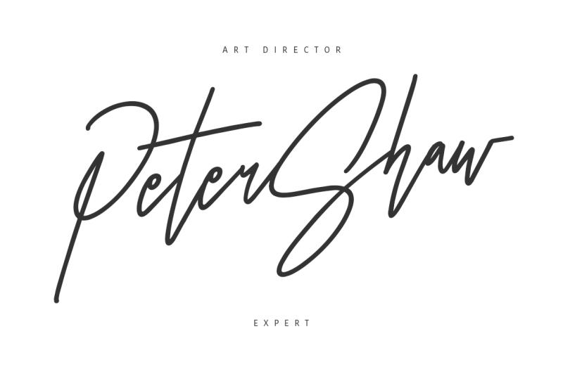otentic-signature-font