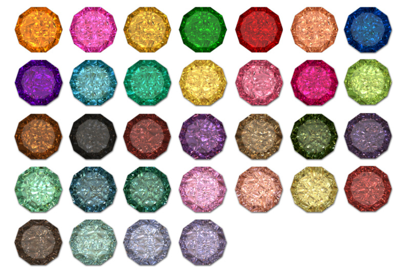 colored-diamonds
