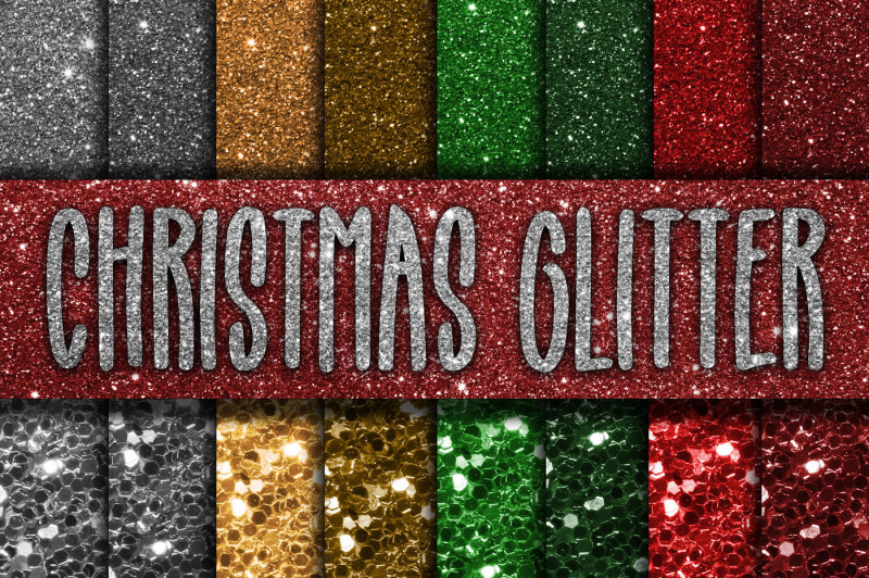 christmas-glitter-digital-paper