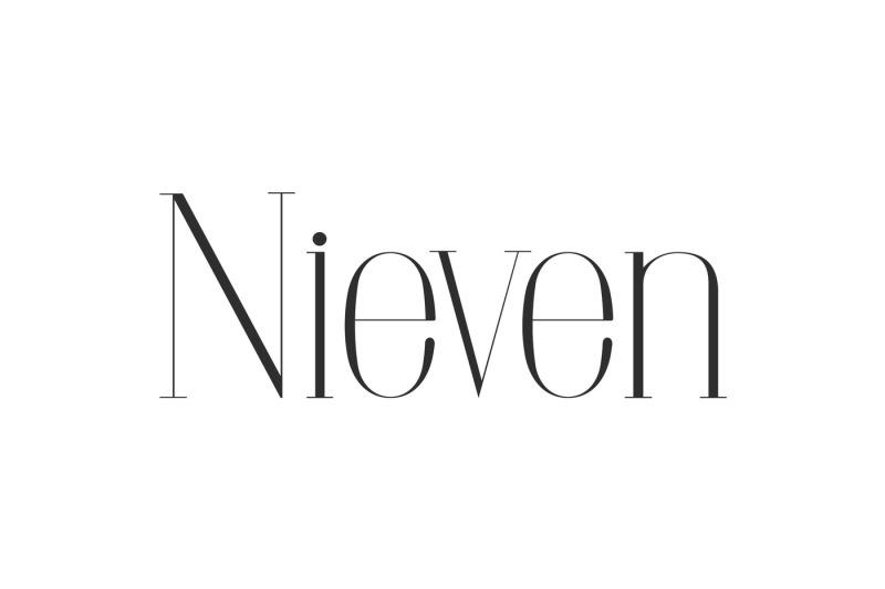 nieven-serif-font