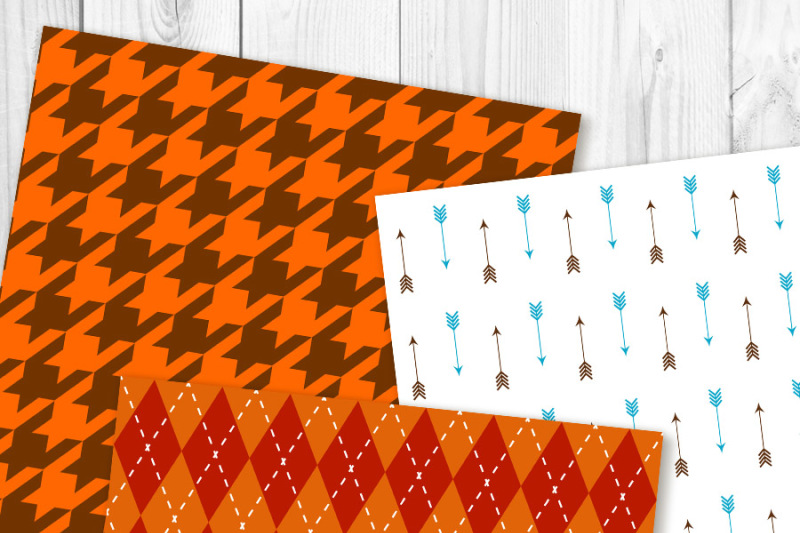 fall-digital-paper-autumn-digital-paper-harvest-themed-scrapbook-paper-thanksgiving-background