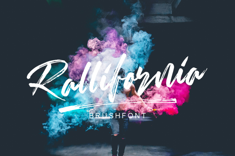 rallifornia-brush-font