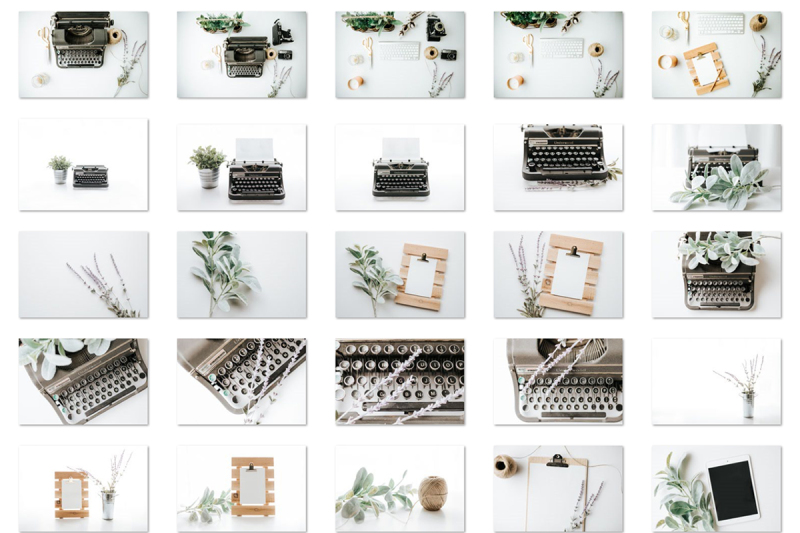 typewriter-stock-photo-bundle