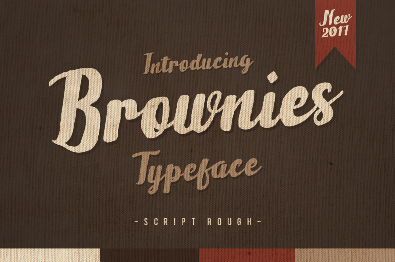 brownies-typeface