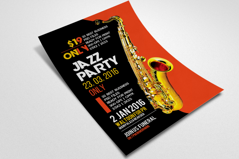 jazz-party-flyer-template