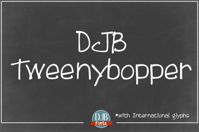 djb-tweenybopper-font