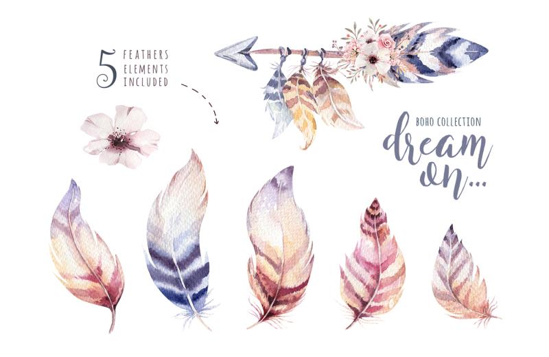 watercolor-boho-collection