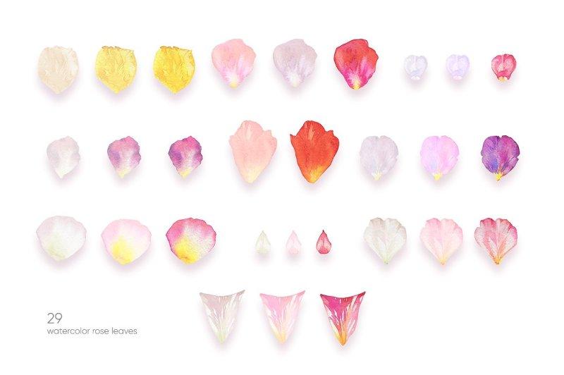 golden-amp-watercolor-petals
