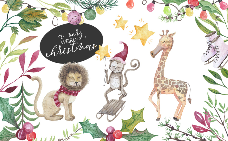 a-very-weird-christmas-graphics