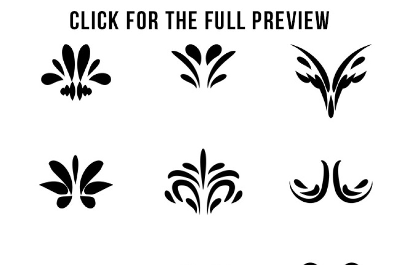 85-flourishes-mega-pack-flourish-clipart-wedding-clipart-text-divider-clipart-line-dividers