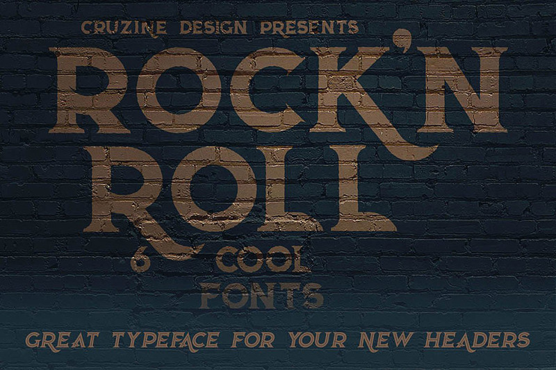 rock-n-roll-typeface