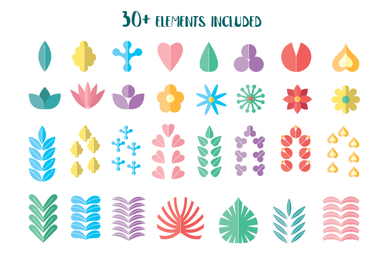 flower-graphic-collection