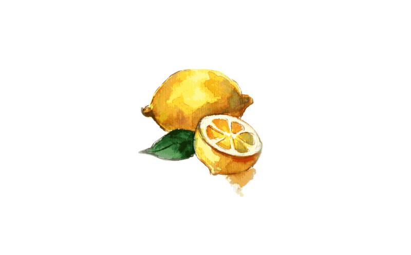 lemon-watercolor
