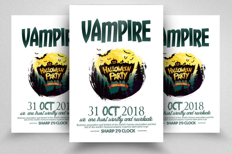 halloween-event-flyer-templates