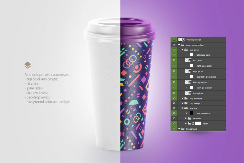 Cup Mockup Psd Free Download