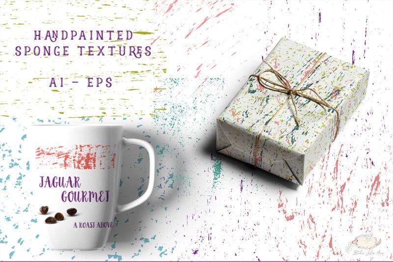 sponge-texture-vector-kit
