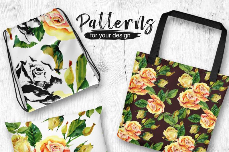 roses-flowers-png-watercolor-set