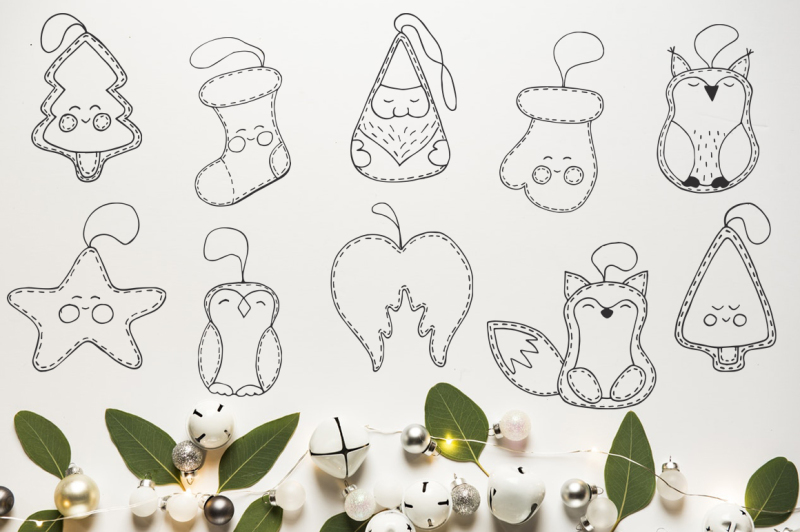 christmas-toys-hand-drawn-decorative-set