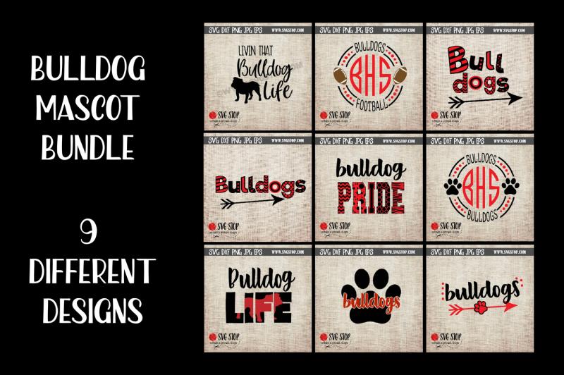 bulldogs-mascot-bundle