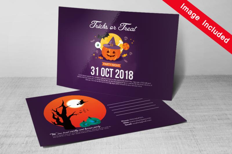10-halloween-postcard-bundle