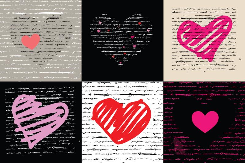 hearts-set