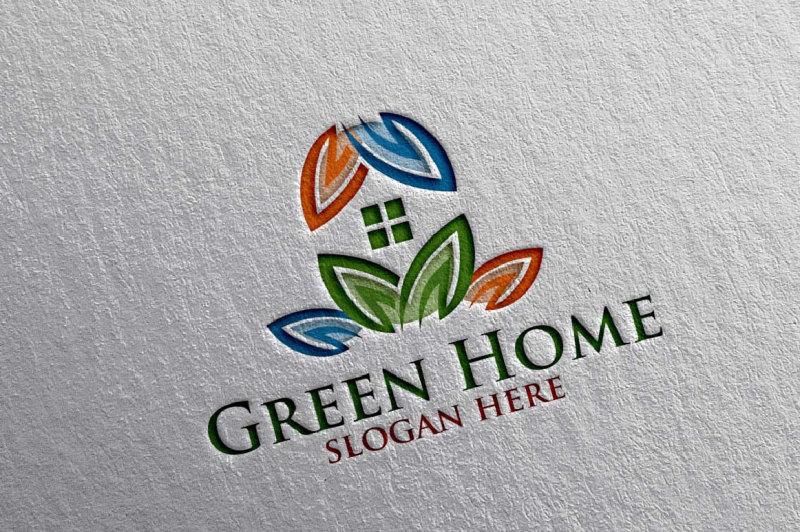 real-estate-logo-green-home-logo-16