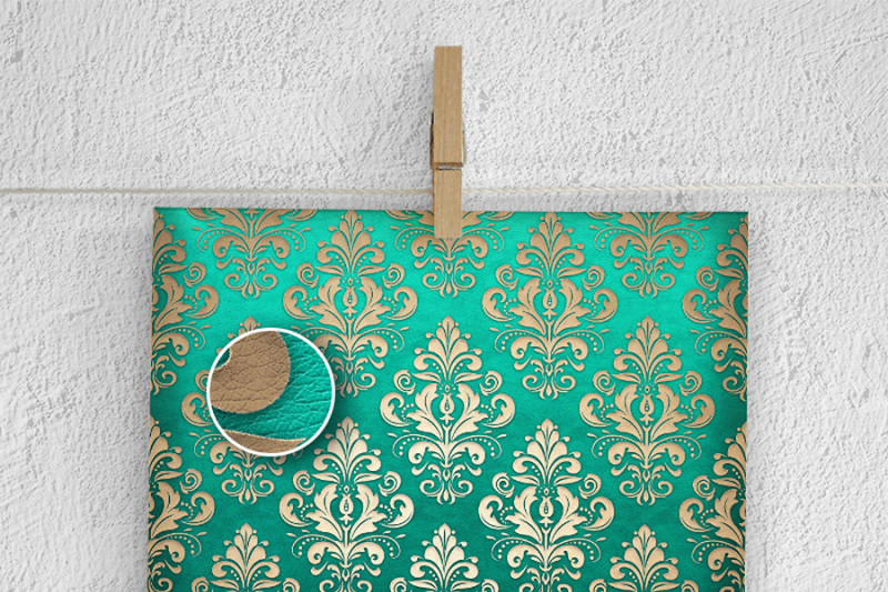 green-and-beige-leather-backgrounds