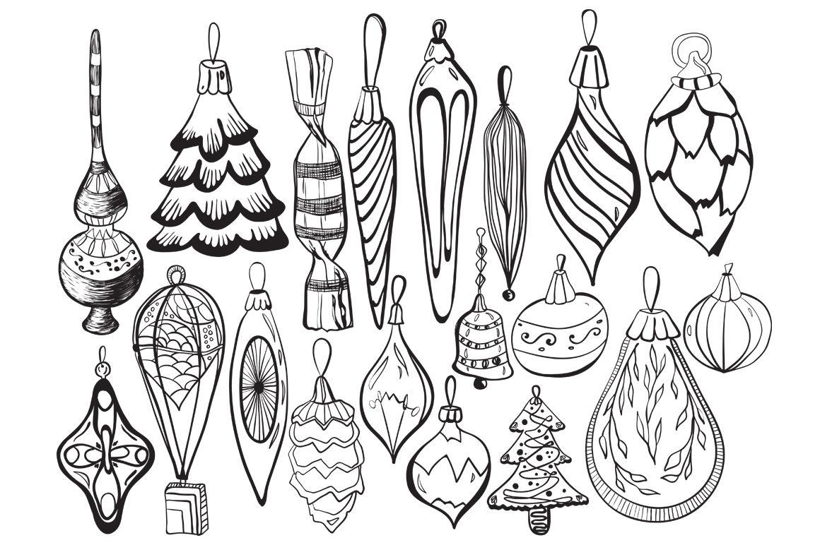 Christmas Decorations By Planinastore Thehungryjpeg Com